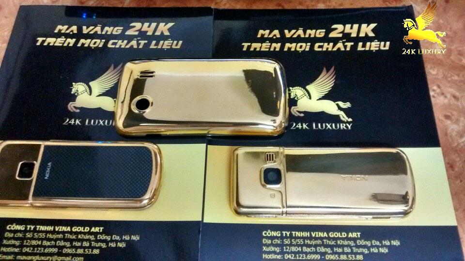 Sản phẩm mạ vàng điện thoại vỏ nhựa