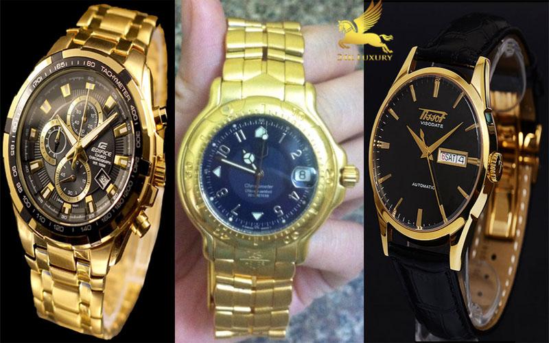 Đồng hồ mạ vàng là xu hướng được ưa chuộng hiện nay
