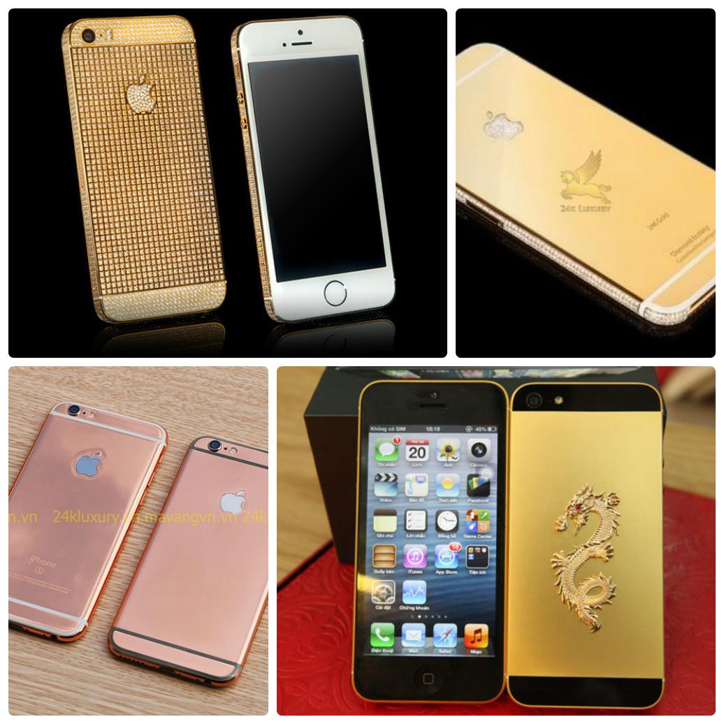 Iphone mạ vàng cao cấp