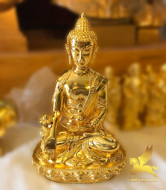 Tượng phật mạ vàng - Vina Gold Art