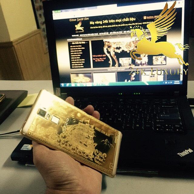 Điện thoại oppo mạ vàng
