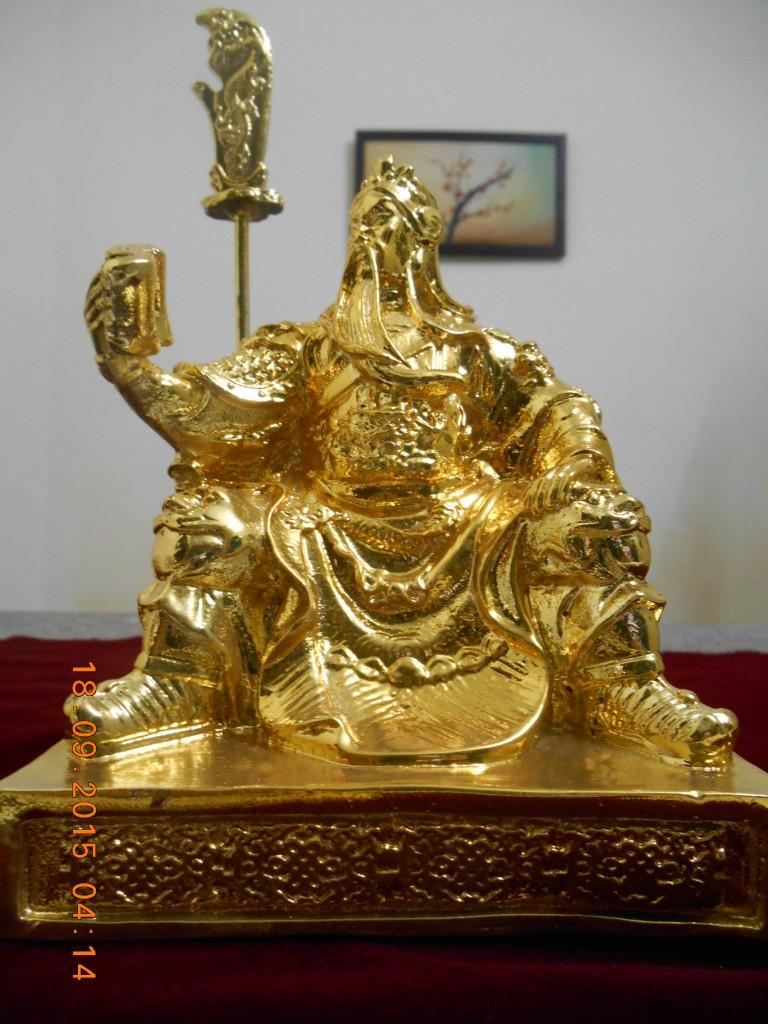 Tượng Quan Công mạ vàng - tượng Phong thủy mạ vàng