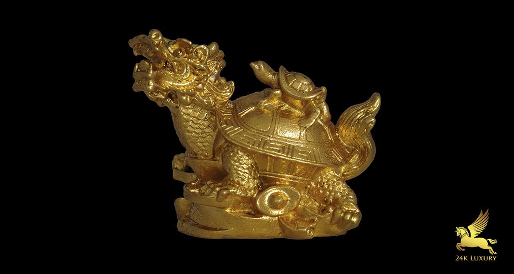 Tượng Rùa mạ vàng - tượng Phong thủy mạ vàng