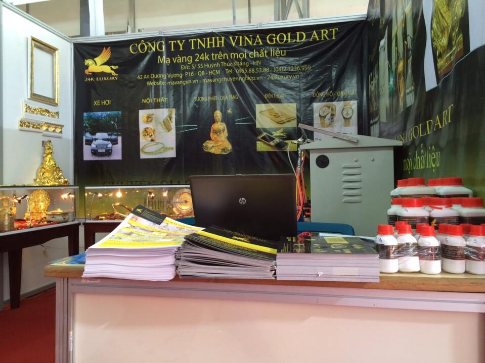 Hình ảnh gian hàng của công ty tại Hội chợ