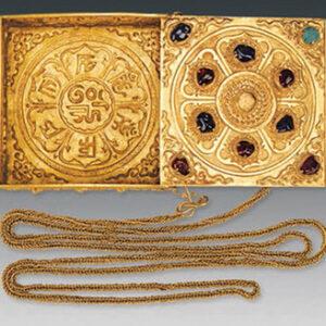 Hộp nữ trang mạ vàng- món quà tặng độc đáo giá trị