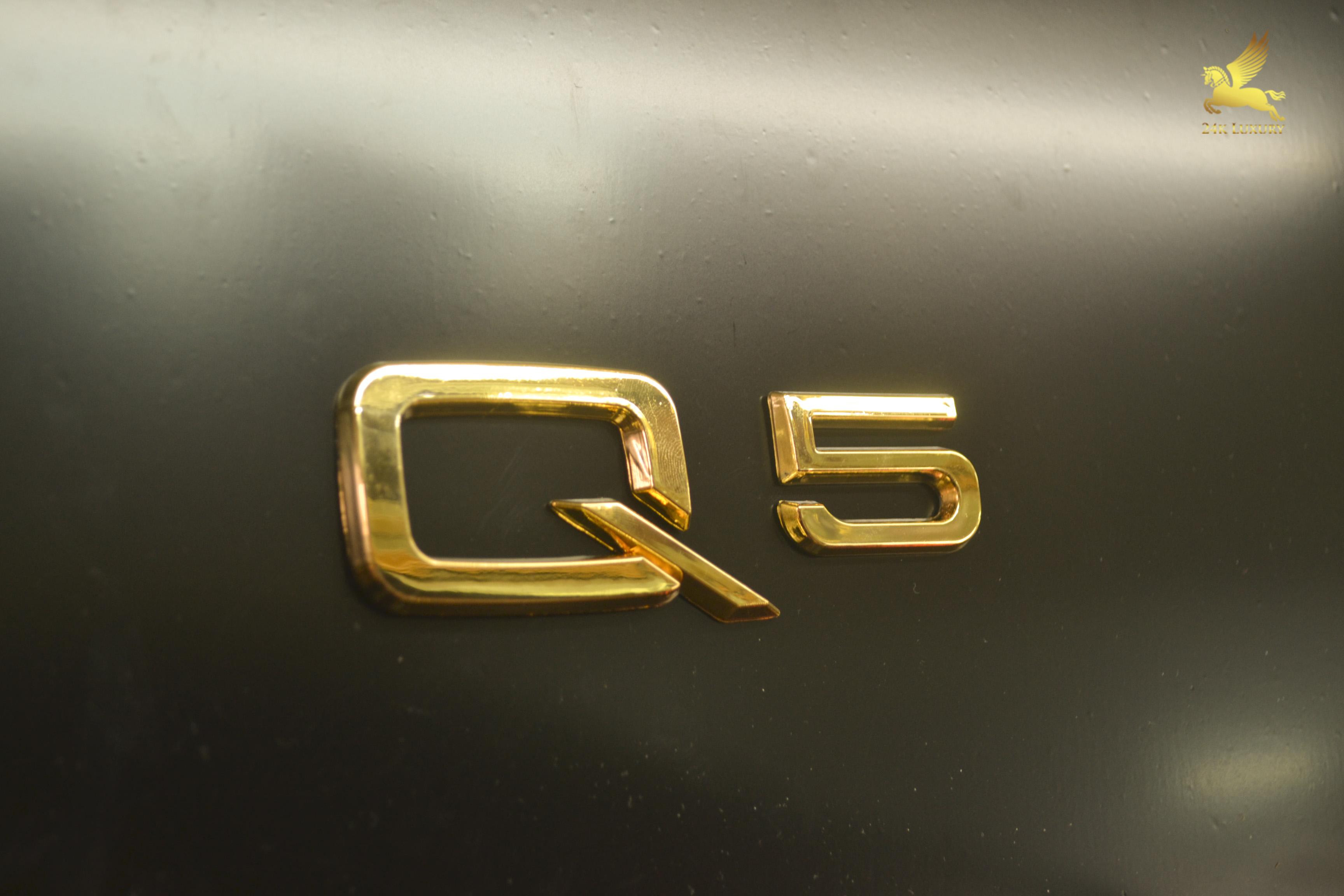 Bộ chữ Q5 mạ vàng ấn tượng độc đáo- Vian Gold Art
