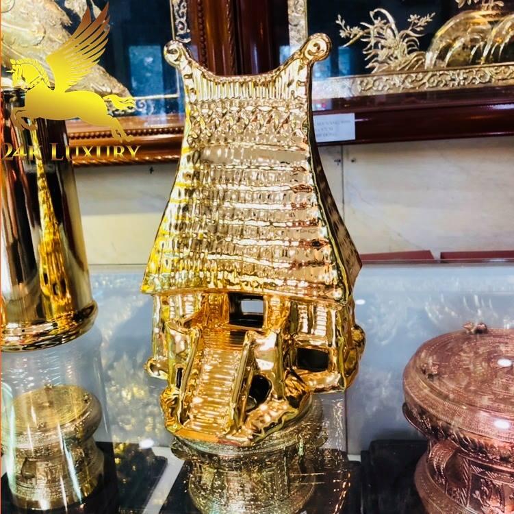 gốm sứ mạ vàng
